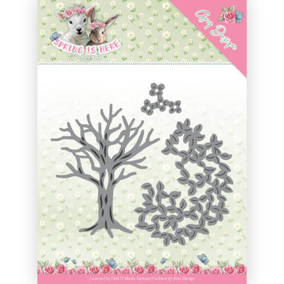 ADD10168 Dies - Amy Design - Spring is Here - Spring Tree 13,2 x 13,0 cm
