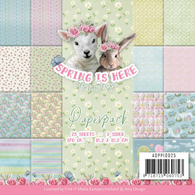 ADPP10025 Paperpack - Amy Design - Spring is Here