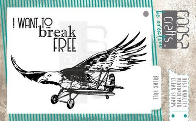 COOSA Crafts clearstamps A7 -  Break Free A7 COC-068