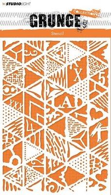 Studio Light mask Stencil A5 Grunge Collection 2.0 nr.14 MASKSL14