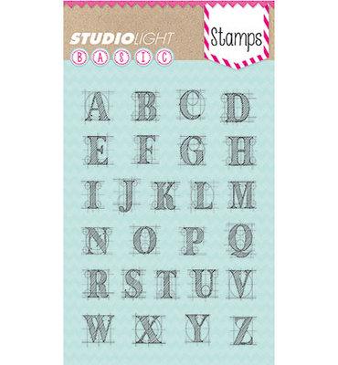 StudioLight – Stamp A6 – Alphabet – Basics nr.204