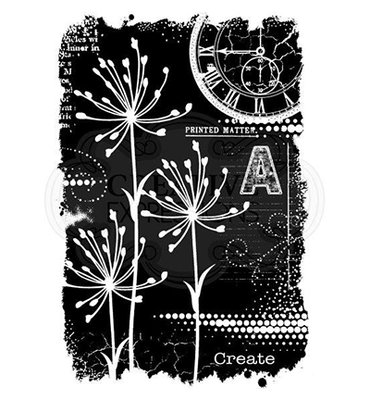 FRS743 Creative Expressions – Woodware Clear Singles Art from Nature –  10.1 x 15.2cm
