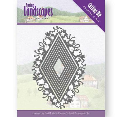 JAD10066 Dies - Jeanine's Art - Spring Landscapes - Spring Diamond
