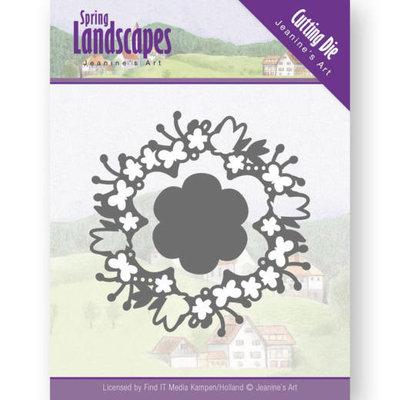 JAD10073 Dies - Jeanine's Art - Spring Landscapes - Spring Flower