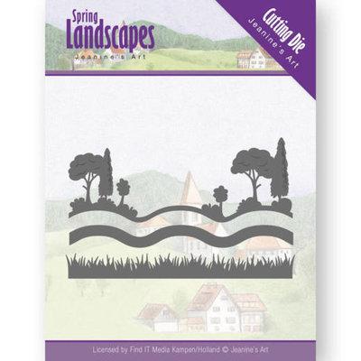 JAD10070 Dies - Jeanine's Art - Spring Landscapes - Landscape Views