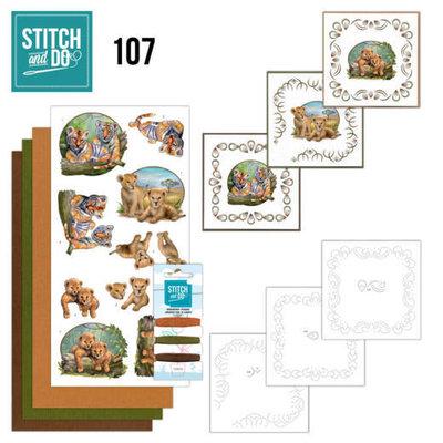 Stitch and Do 107 Wild Animals