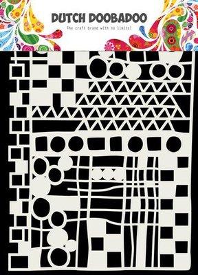 Dutch Doobadoo Dutch Mask Art  Geo Mix - abstract A5 470.715.137