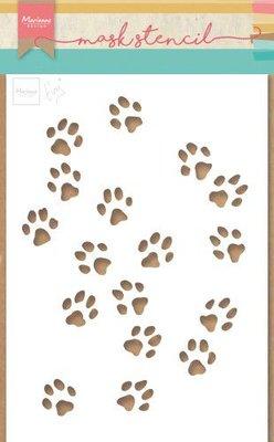 Marianne D Stencil Tiny's kattenpoten PS8029 149x210mm