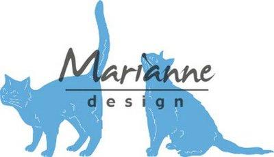 Marianne D Creatable Tiny's katten LR0591 43x62 -52x42mm