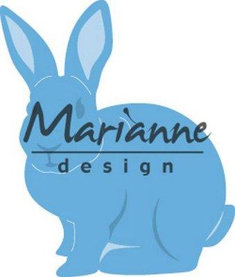 Marianne D Creatable Bunny LR0589 42 x50mm
