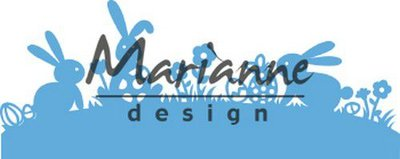 Marianne D Creatable Bunny rand LR0588 150x50mm