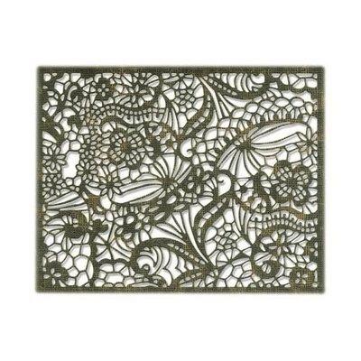 Sizzix Thinlits Die - Intricate Lace 664181 Tim Holtz