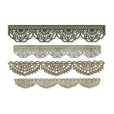 Sizzix Thinlits Die Set - 4PK Crochet 664178 Tim Holtz