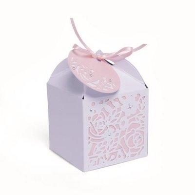 Sizzix Thinlits Die Set - 4PK Decorative  Favour Box 663465 Olivia Rose