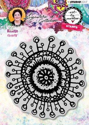 Studio Light Cling Stamp Doodle Flower Art By Marlene 3.0 nr.31 STAMPBM31