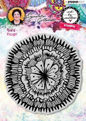 Studio Light Cling Stamp Floral Escape Art By Marlene 3.0 nr.30 STAMPBM30