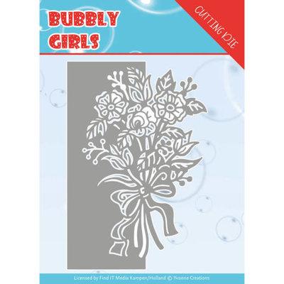 YCD10168 Dies - Yvonne Creations - Bubbly girls- Bouquet ca. 8,6 x 12,8 cm