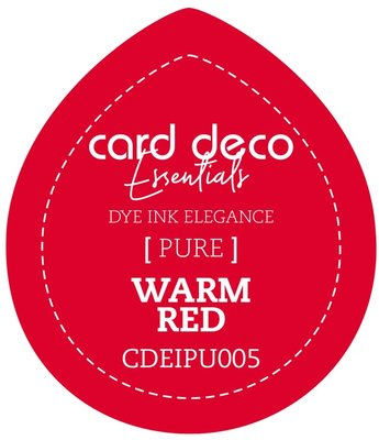 Card Deco Essentials Fade-Resistant Dye Ink Warm Red