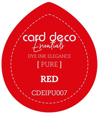Card Deco Essentials Fade-Resistant Dye Ink Red