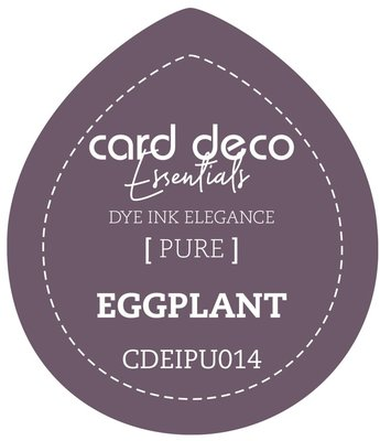 Card Deco Essentials Fade-Resistant Dye Ink Eggplant