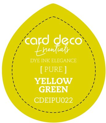Card Deco Essentials Fade-Resistant Dye Ink Yellow Green