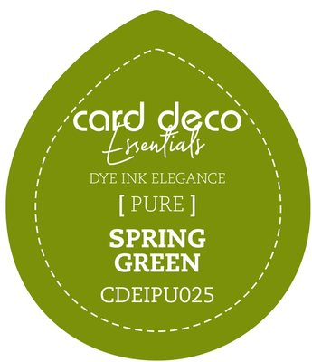 Card Deco Essentials Fade-Resistant Dye Ink Spring Green