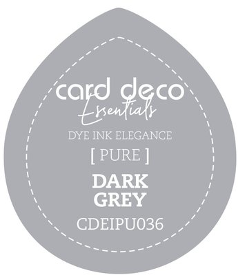 Card Deco Essentials Fade-Resistant Dye Ink Dark Grey