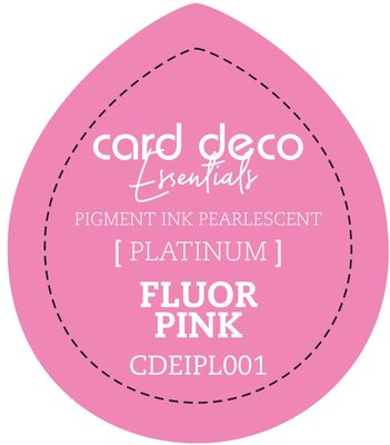 Card Deco Essentials Fast-Drying Pigment Ink Pearlescent Fluor Pink