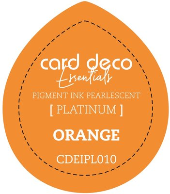 Card Deco Essentials Fast-Drying Pigment Ink Pearlescent Orange