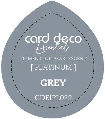 Card Deco Essentials Fast-Drying Pigment Ink Pearlescent Grey