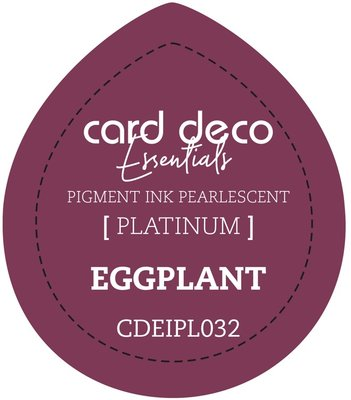 Card Deco Essentials Fast-Drying Pigment Ink Pearlescent Eggplant