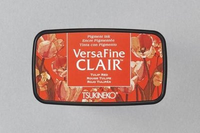 Versafine Clair inktkussen Vivid Tulip Red VF-CLA-702
