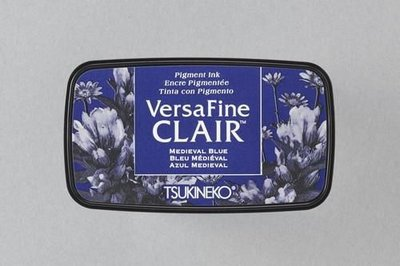 Versafine Clair inktkussen Dark Medieval blue VF-CLA-651