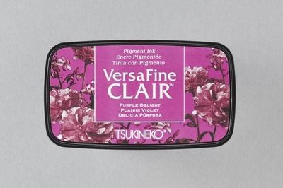 Versafine Clair inktkussen Vivid Purple Delight VF-CLA-101    (11-17)