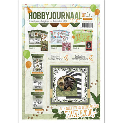 Hobbyjournaal 170 met gratis knipvel