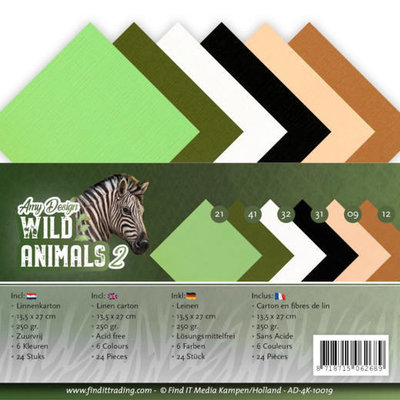 AD-4K-10019 Linnenpakket - 4K - Amy Design - Wild Animals 2