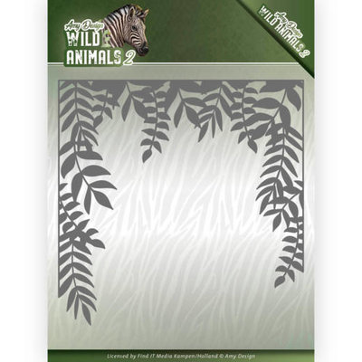 ADD10172 Dies - Amy Design - Wild Animals 2 - Jungle Frame