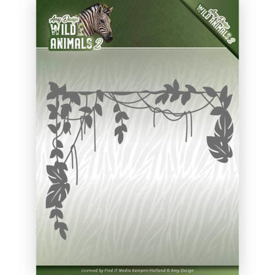 ADD10173 Dies - Amy Design - Wild Animals 2 - Jungle Branch