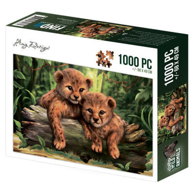 Puzzle 1000 pc - Amy Design - Wild Animals - Cubs