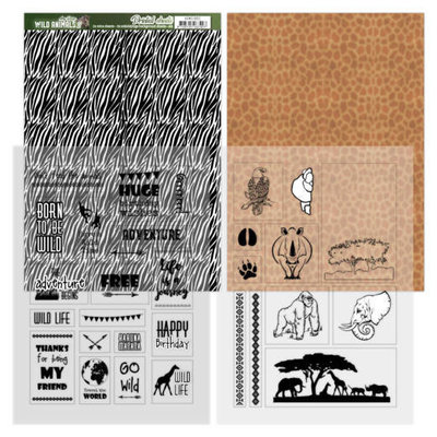 ADMC1002 Sheets Zebra - Amy Design - Wild Animals 2
