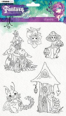 Studio Light Clearstempel A5 Element Fantasy Collection nr.376 STAMPFC376