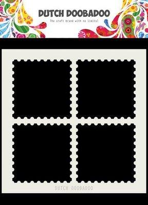 Dutch Doobadoo Dutch Mask Art 15x15cm postzegelranden 470.715.616