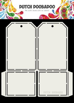 Dutch Doobadoo Card art label 148x155mm 470.713.715