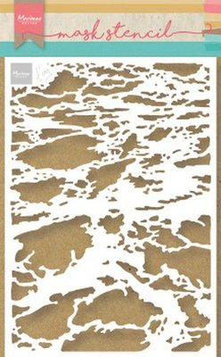 Marianne Design Stencil Tiny's oceaan PS8032 149x149 mm
