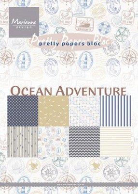 Marianne Design Paperpad Ocean Adventure A5 PK9162 A5