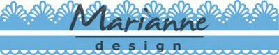 Marianne Design Creatable Sweet borders (2) LR0599 152.5x9.5 mm, 152.5x15.5 mm