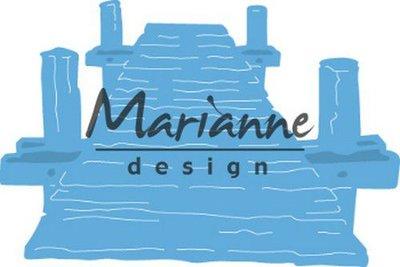 Marianne Design Creatable Tiny's strandsteiger LR0597 1 pc, 75x50 mm