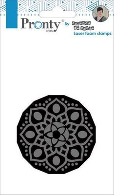 Pronty Foam stamp Mandala 1 494.905.001 by Jolanda