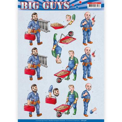 CD11328 3D Knipvel - Yvonne Creations- Big Guys - Repairs