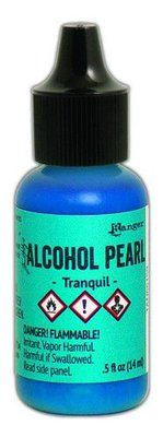 Ranger Alcohol Ink Pearl 15 ml - Tranquil TAN65159 Tim Holtz